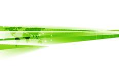 Abstrakt zielonej białej techniki korporacyjny tło Zdjęcia Royalty Free