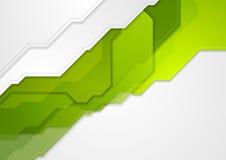 Abstrakt zielonej techniki korporacyjny tło Obraz Royalty Free