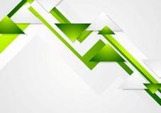 Abstrakt zielonej techniki korporacyjny wektorowy tło Zdjęcie Stock