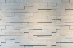 Abstrakta ściana z cegieł kwadratowy biały tło Zdjęcia Stock