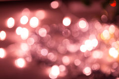 Abstrakta świętowania czerwieni lekki tło Fotografia Royalty Free