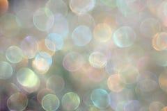 Abstrakta światła barwiony tło z bokeh Obrazy Stock