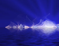 abstrakta światło Zdjęcia Royalty Free