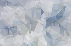 Abstrakta światło - szary mozaiki tło ilustracja wektor