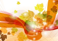 Abstrakta Autumn Background. Royaltyfri Bild