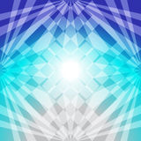 Abstrakta błękitny światło Fotografia Royalty Free