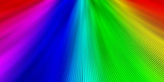 Abstrakta band texturerar med regnbågefärger stock illustrationer