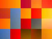 Abstrakta barwiony patchwork Obraz Royalty Free