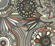Abstrakta barwiony tło od różnorodność wzorów ilustracja wektor