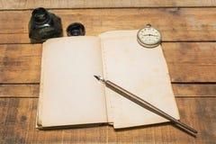 Abstrakta begreppet av tid arkivbild