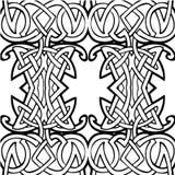 abstrakta bezszwowy wzoru Obrazy Royalty Free