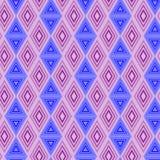 abstrakta bezszwowy wzoru deseniowi bezszwowi trójboki Fotografia Stock