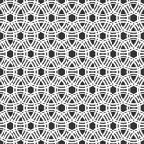 abstrakta bezszwowy wzoru elegancki geometryczny ornament Fotografia Stock