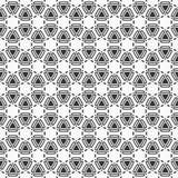 abstrakta bezszwowy wzoru elegancki geometryczny ornament Obraz Royalty Free