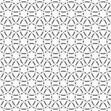 abstrakta bezszwowy wzoru elegancki geometryczny ornament Obrazy Stock