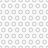 abstrakta bezszwowy wzoru elegancki geometryczny ornament Obraz Stock