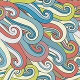 abstrakta bezszwowy wzoru Macha tło również zwrócić corel ilustracji wektora Zdjęcie Royalty Free