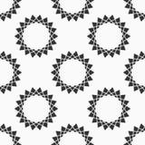 abstrakta bezszwowy wzoru Regularnie powtarzać symmetric geometrycznego ornament Gwiazda kształty ilustracji