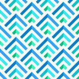 Abstrakta blåa och för vit 3D band modell, vektor Royaltyfri Bild