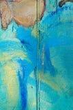 Abstrakta blått, gräsplan, brunt, guling, beige bakgrund Royaltyfri Foto