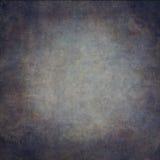 Abstrakta blått hand-målad tappningbakgrund arkivfoton