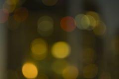 Abstrakta bokeh lekkiego plecy zmielony tło Obraz Royalty Free