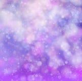 Abstrakta bokeh różowy miękki tło Fotografia Royalty Free