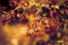 Abstrakta brąz & złoty błyszczący zima styl zabarwialiśmy tło Rozjarzony tło z bokeh stylem dla sezonowych powitań zdjęcia stock