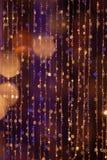 Abstrakta cirles av ljus och färger Fotografering för Bildbyråer