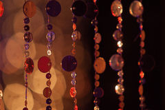 Abstrakta cirles av ljus och färger Royaltyfri Foto