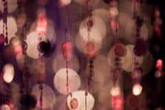 Abstrakta cirles av ljus och färger Royaltyfria Foton