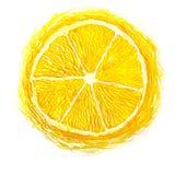 Abstrakta citroner för volym Arkivfoton