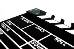 Abstrakta Clapperboard Arkivfoton