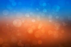 Abstrakta colorfullbokehljus Arkivbild
