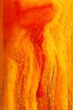 abstrakta czerwony przepływu żółty Fotografia Stock