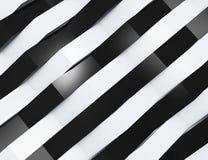 Abstrakta 3d biały geometryczny tło Zdjęcia Stock