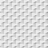 Abstrakta 3d biały geometryczny tło Biała bezszwowa tekstura z cieniem Prosta czysta biała tło tekstura 3D wnętrze wal Fotografia Stock