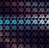 Abstrakta 3d geometricbroken glass linjer modern grungevektorbakgrund Royaltyfri Bild