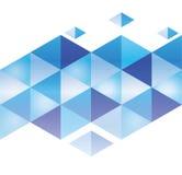Abstrakta 3d geometricbroken glass linjer modern grungevektorbakgrund Arkivfoton