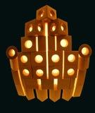 Abstrakta 3D kształt lub projekt Obrazy Royalty Free