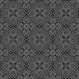 Abstrakta deseniowy czerń i whit doodle Obrazy Stock