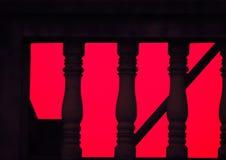 Abstrakta deseniowy zmierzch Zdjęcia Stock