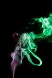 Abstrakta dym od aromatycznych kijów Zdjęcia Stock