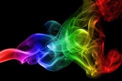 abstrakta dymu fale Zdjęcie Stock