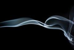 abstrakta dymu fale Obrazy Stock