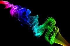 abstrakta dymu fale Fotografia Stock