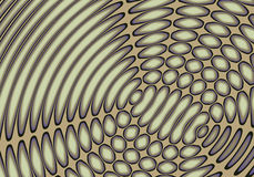 abstrakta echo. Ilustracji