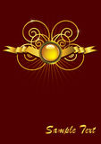 abstrakta eps ornamentu wektoru rocznik Obraz Royalty Free