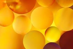 Abstrakta färgrika bubblor Arkivfoto