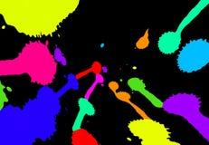 Abstrakta färgrika fläckar Royaltyfri Foto